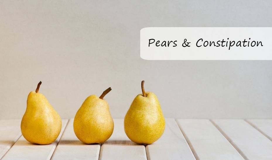 Pears and Constipation